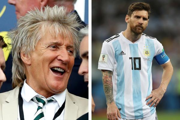 Rod Stewart fez piada com a má fase da seleção argentina na Copa da Rússia (Foto: Getty)