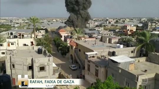 Vinte e um palestinos morrem em ataques aéreos israelenses na Faixa de Gaza