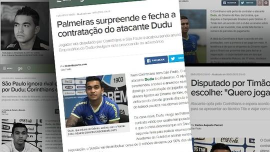 Bastidores de um chapéu: como o Palmeiras bateu rivais e ficou com Dudu