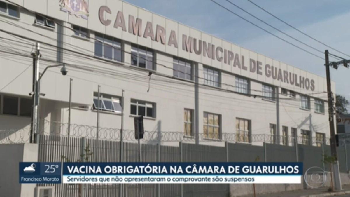 Câmara de Guarulhos, na Grande SP, vai suspender contratos de servidores que não estiverem vacinados contra Covid