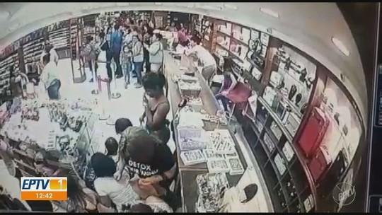 Vídeo: tiroteio em igreja causou pânico no Centro de Campinas