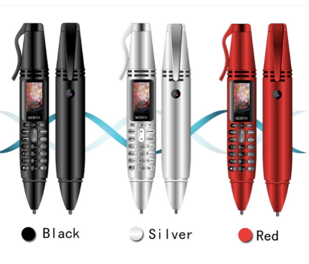 Servo K07 está disponível nas cores preto, cinza e vermelho — Foto: Reprodução/Ali Express