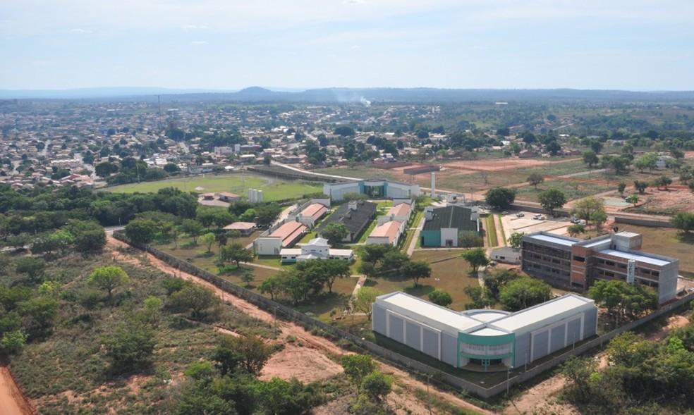 Assalto foi na entrada do campus da UFT em Araguaína (Foto: UFT/Divulgação)