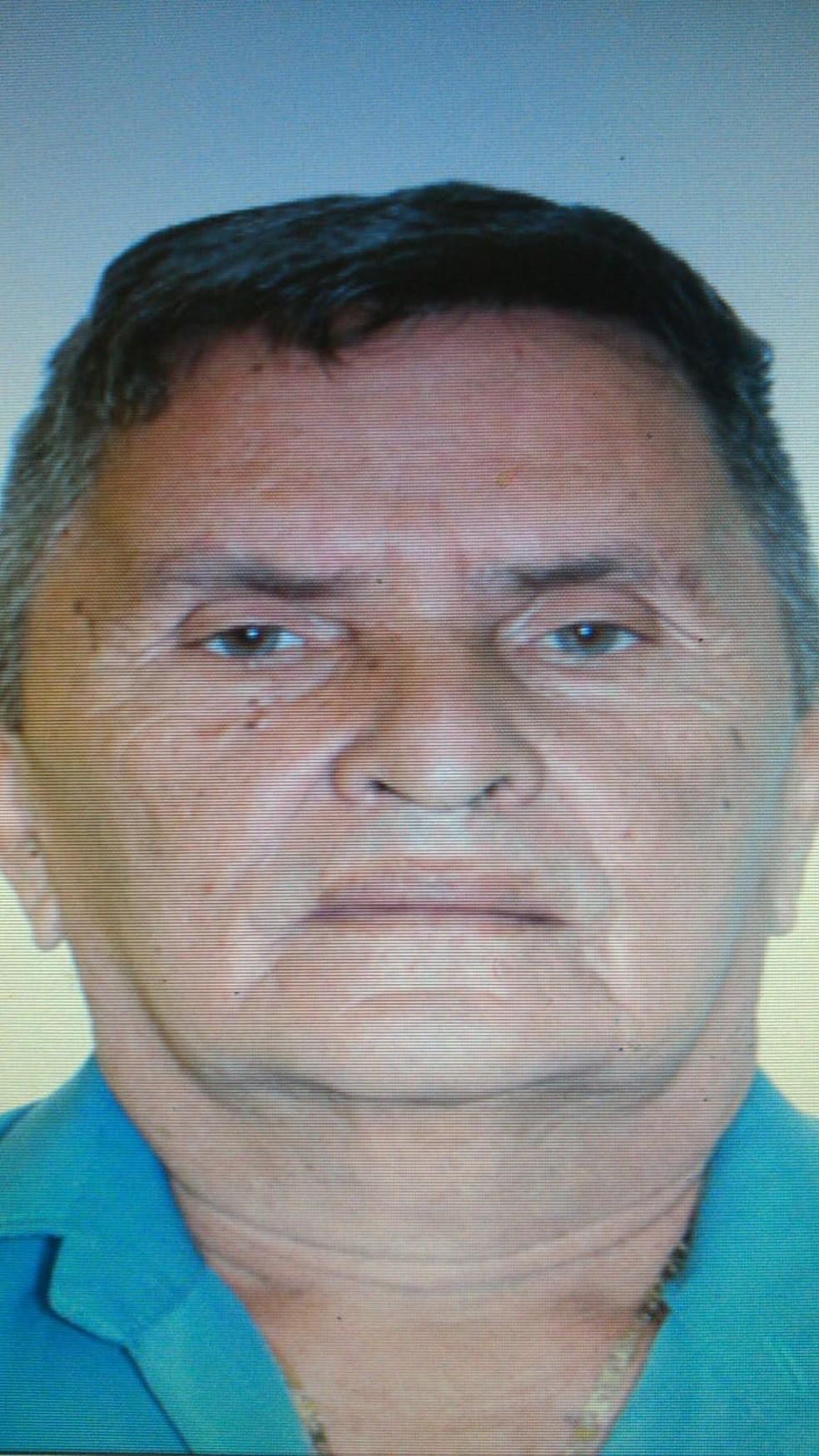 Francisco Jacó Alves, de 66 anos foi encontrado morto em casa— Foto: Foto: Policia Militar/divulgação