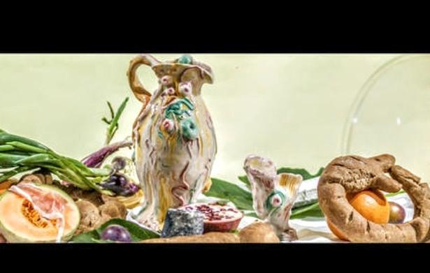 Tela mostrando conexão de comida com arte