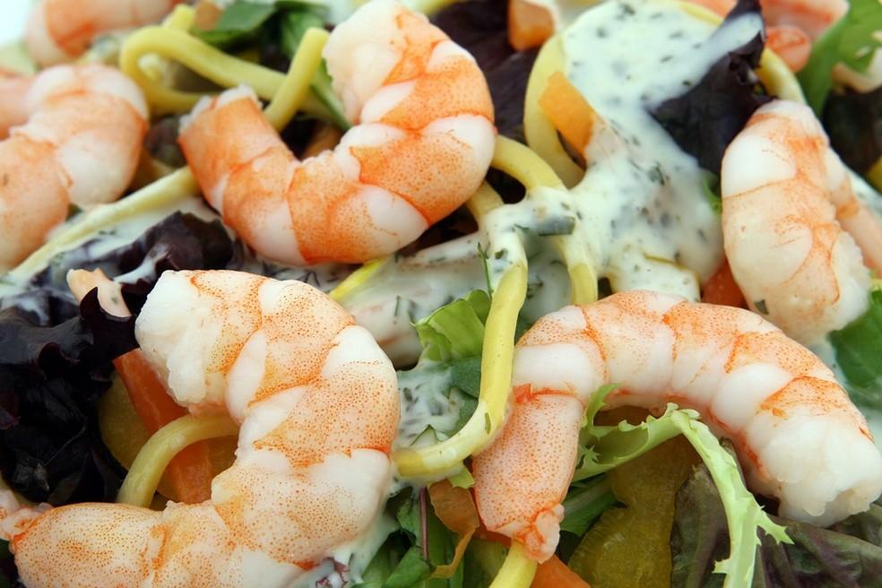 Cuidado ao comer frutos do mar. — Foto: Pixabay
