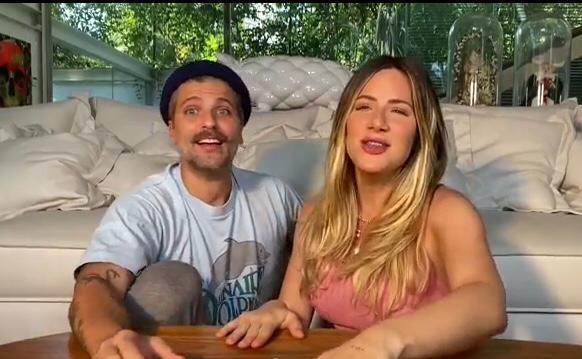 Bruno Gagliasso e Giovanna Ewbank (Foto: Reproução)