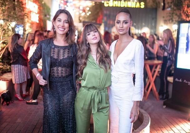 Gisele Itié, Giovanna Lancellotti e Gracie Carvalho (Foto:   Victor Vivacqua)