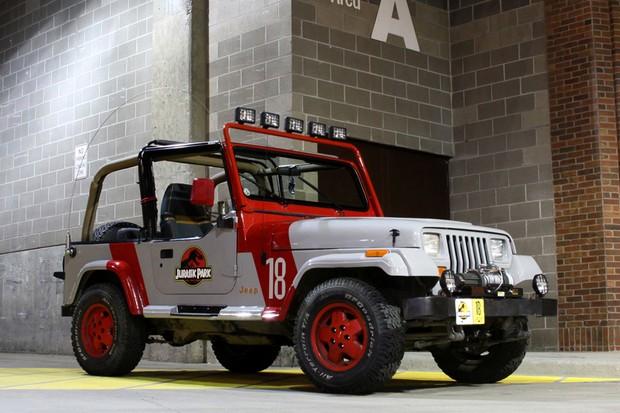 Jeep jurássico virou uma customização comum (Foto: Reprodução)