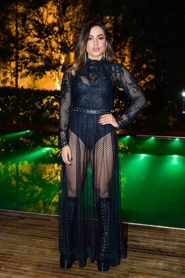 SAO PAULO, BRAZIL - APRIL 27: Anitta attend the 7th Annual amfAR Inspiration Gala on April 27, 2017  in Sao Paulo, Brazil. (Photo by Studio Fernanda Calfat/Getty Images for amfAR) (Foto: Getty Images)