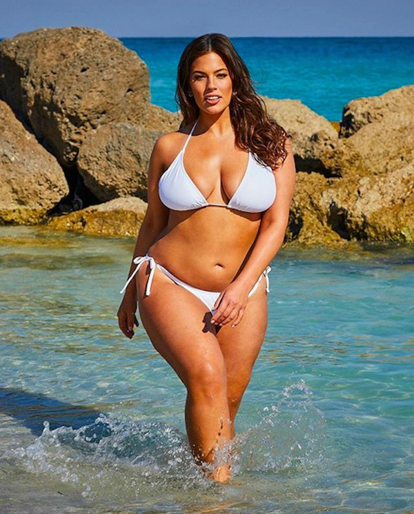 A modelo Ashley Graham (Foto: Instagram)