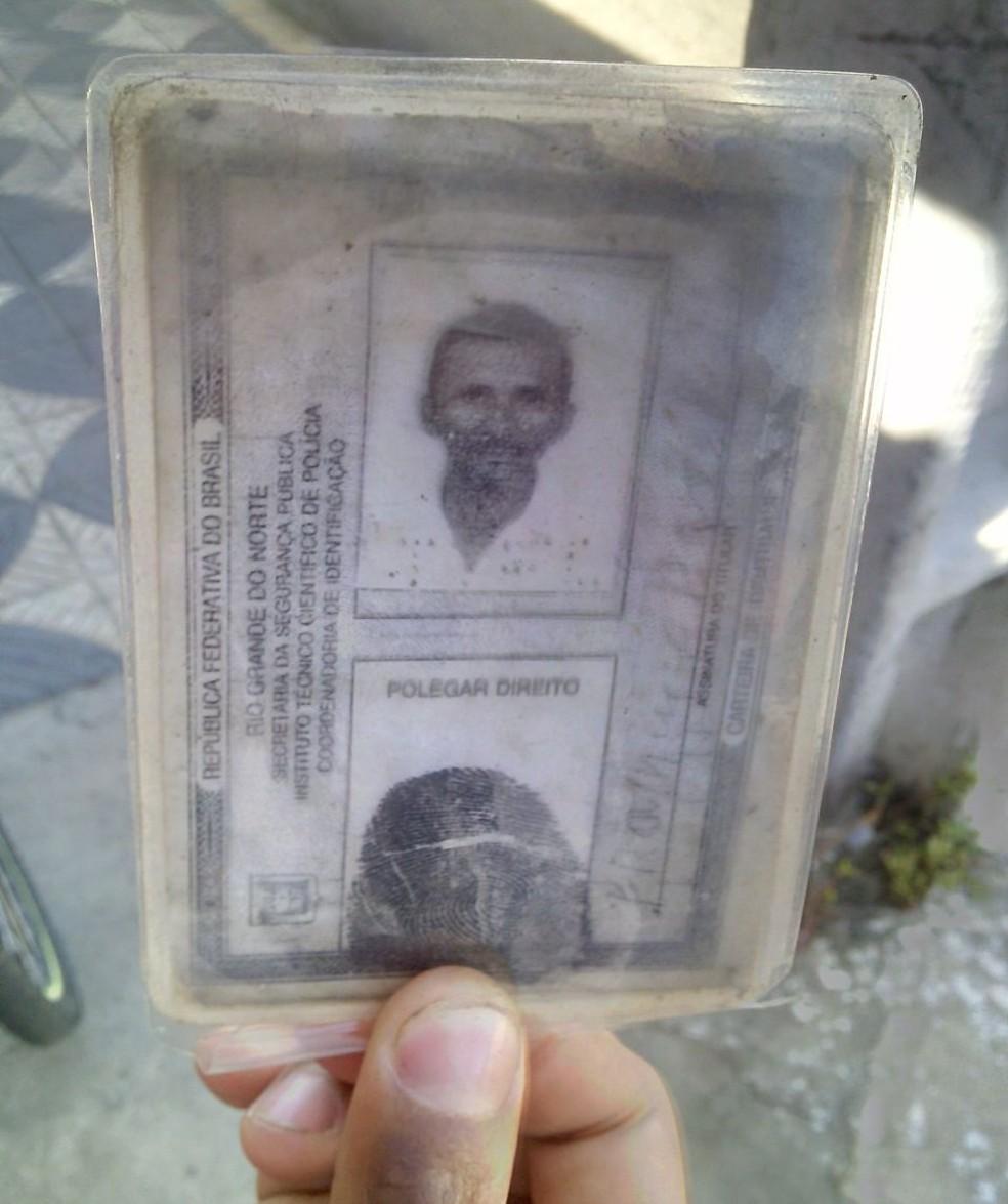 Francisco Borges de Lima, de 79 anos, foi atropelado por ônibus em Natal (Foto: Julianne Barreto/ InterTV Cabugi)