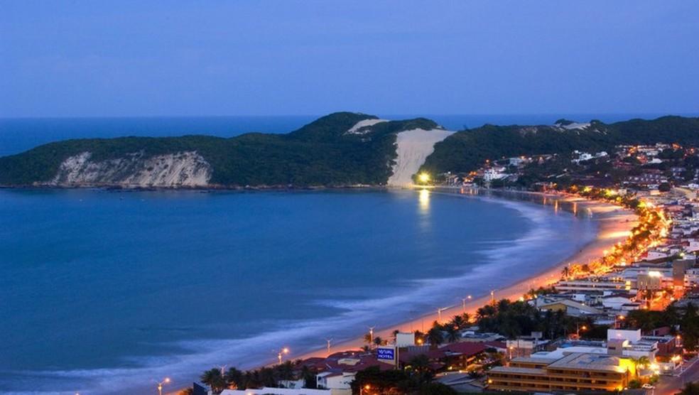 Morro do Careca, Praia de Ponta Negra em Natal — Foto: Vlademir Alexandre/Ministério do Turismo