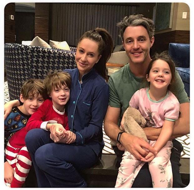 Jessica Mulroney e família (Foto: Reprodução / Instagram)