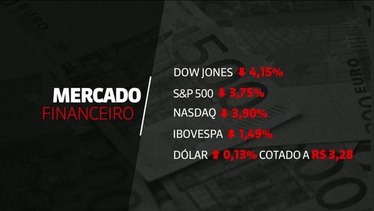 Bolsas americanas registram segunda grande queda na semana