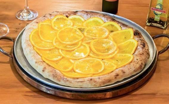 Pizza de laranja? Sim, é uma delícia! (Foto: Divulgação)