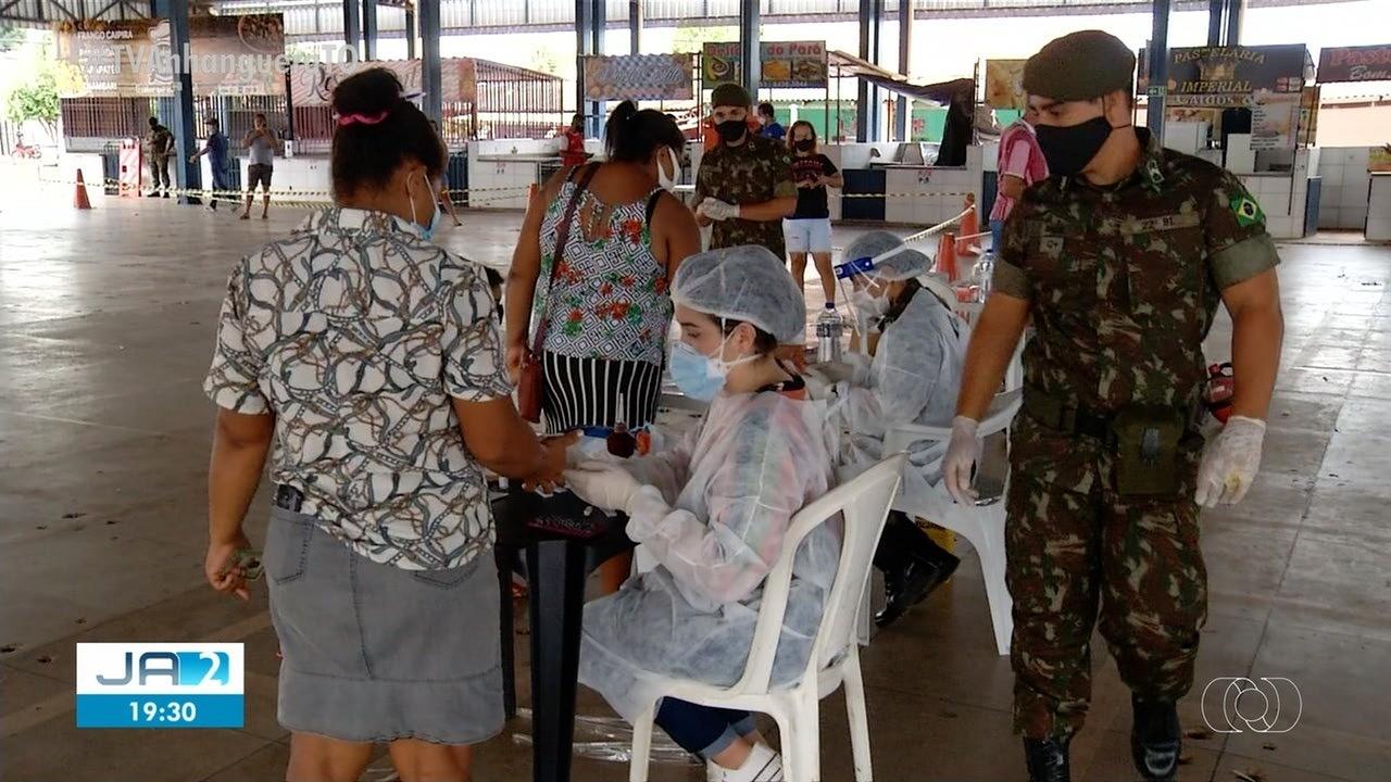 Palmas divulga critérios para imunização das forças de segurança