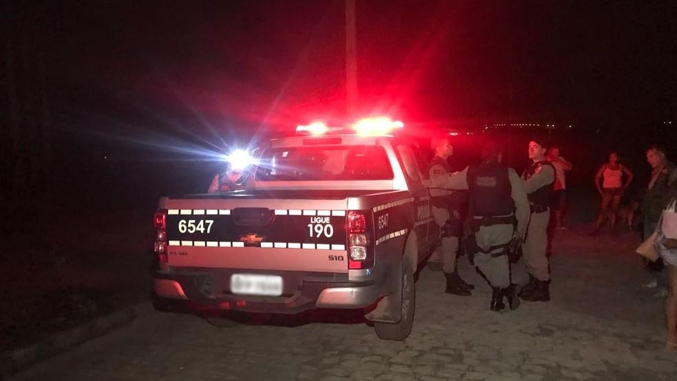 Crime aconteceu em Santa Rita, PB; homem foi morto com nove tiros (Foto: Walter Paparazzo/G1)