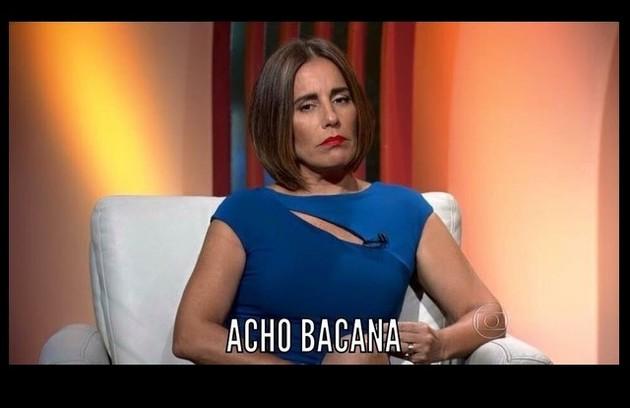 Gloria Pires movimentou a internet como comentarista do Oscar.  Relembre os memes que fizeram sucesso em 2016 (Foto: Reprodução)