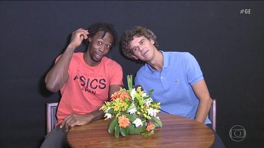 """Monfils pega """"energia"""" e promete abraço em Guga se vencer Roland Garros"""
