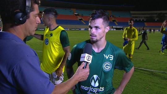 """Michael admite atuação fraca do Goiás, mas também reclama da arbitragem: """"Ficamos nervosos"""""""
