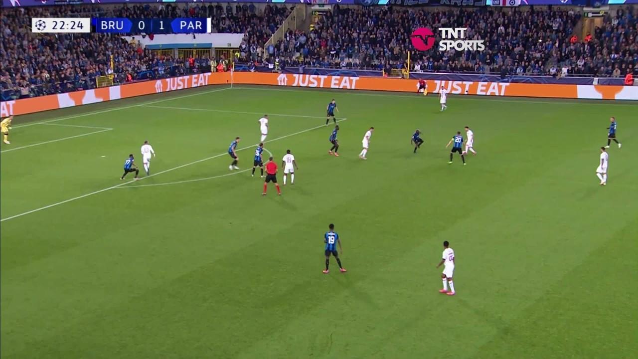 GRUPO A: Club Brugge 1 x 1 PSG