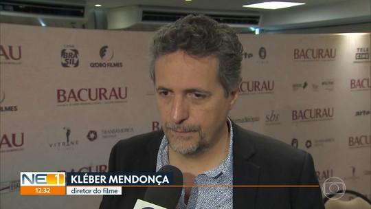 """Diretores e atores do filme """"Bacurau"""" falam sobre o lançamento que ocorre no Recife"""