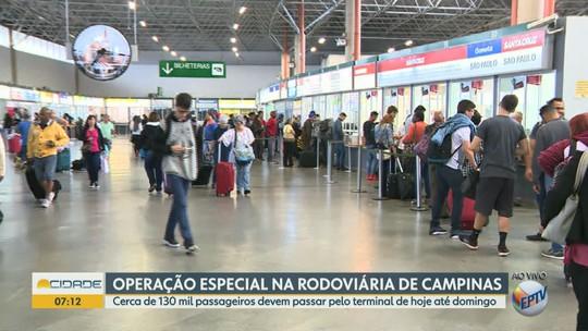 Viracopos e Rodoviária esperam 243 mil passageiros para feriadão de Nossa Senhora Aparecida