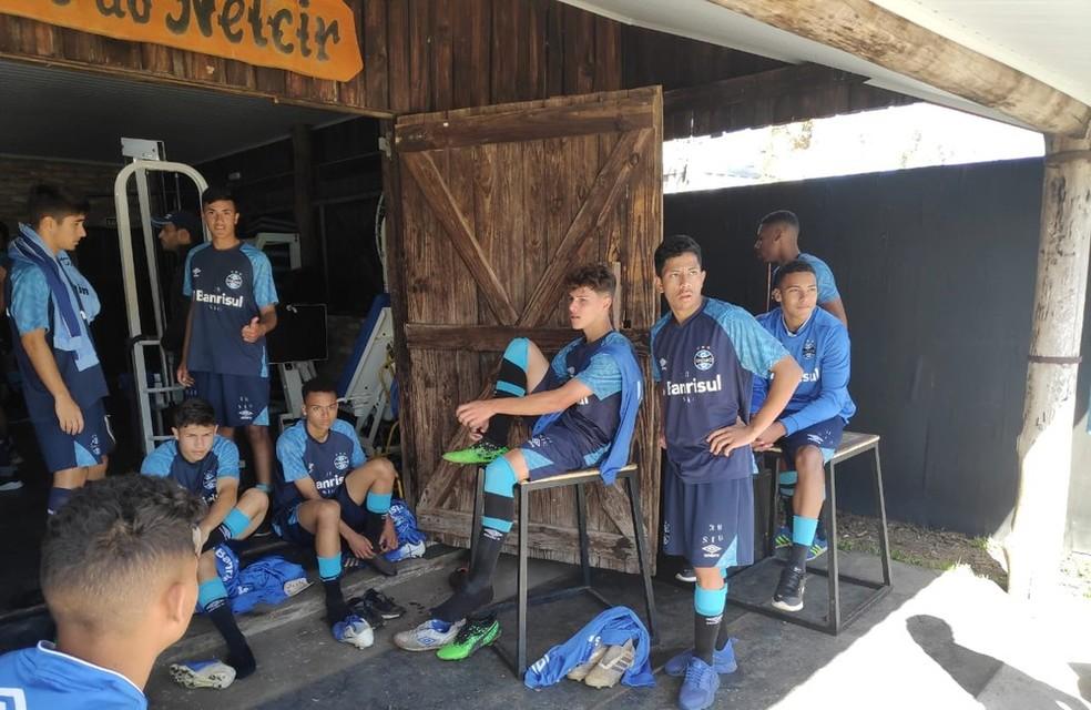 Jovens devem retomar atividades no CT Hélio Dourado em agosto — Foto: Julio Cesar Santos