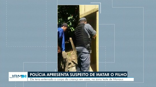 Suspeito de matar próprio filho de 7 anos planejou crime dias antes, diz polícia do AM