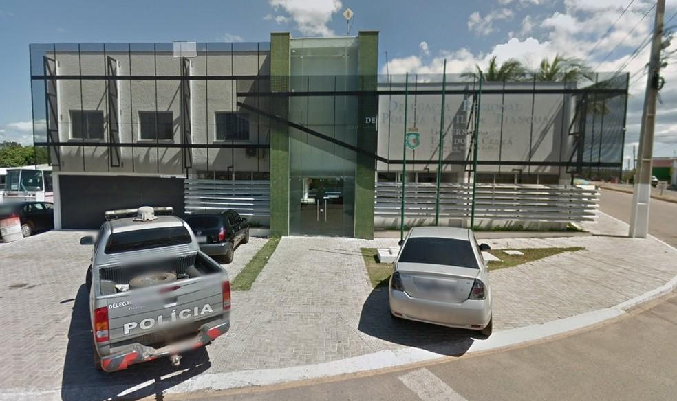 Inquérito policial foi instaurado na Delegacia Regional de Tianguá, que investiga as denúncias — Foto: Google Street View
