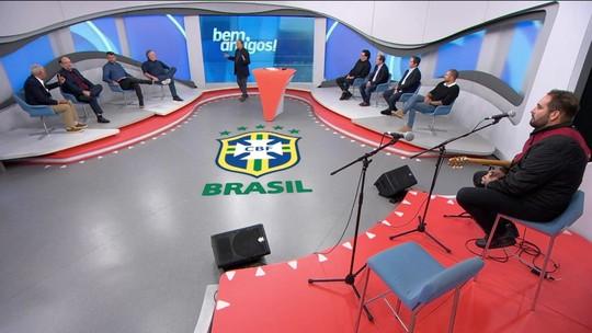 """Casagrande diz que Seleção está europeizada: """"Falta a ginga do futebol brasileiro"""""""