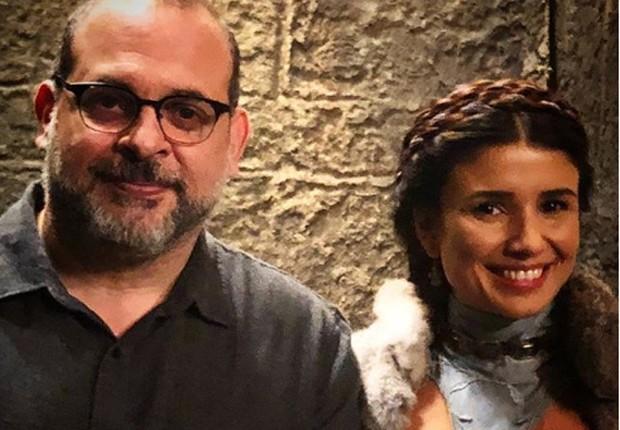 Fabrício Mamberti e Paula Fernandes (Foto: Reprodução/Instagram)