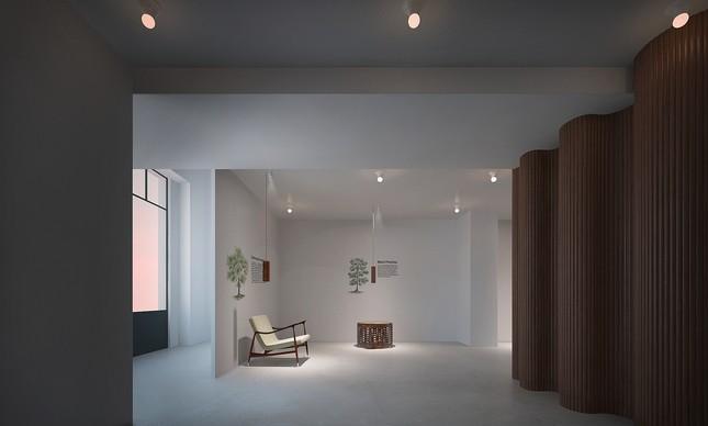 Showroom da ETEL em Milão