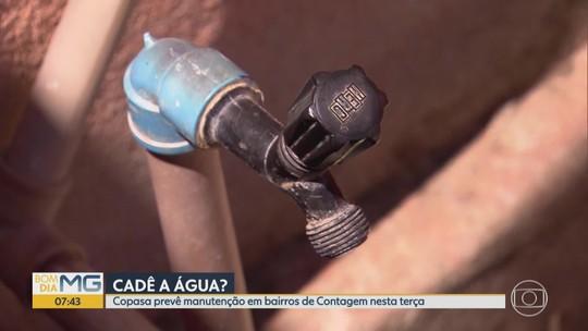 Copasa corta água em mais de 40 bairros de BH e Região Metropolitana
