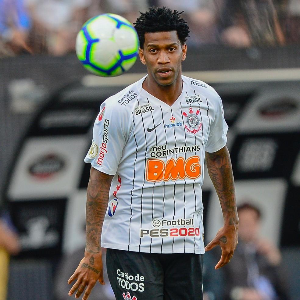Gil na partida contra o Flamengo — Foto: Renato Pizzuttto/BP Filmes