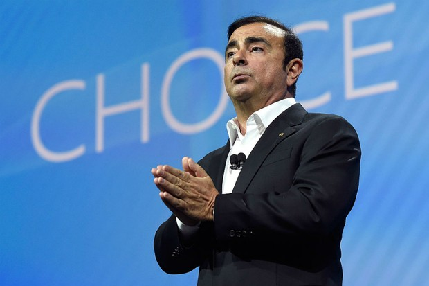 Brasileiro Carlos Ghosn, ex-CEO da Nissan (Foto: David Becker/Getty Images)