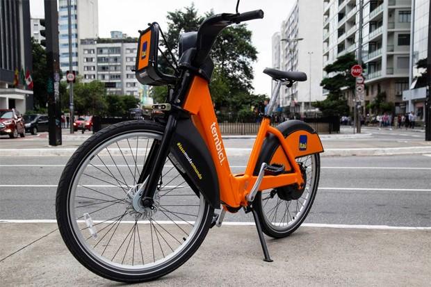 Bateria das e-bikes do Bike Sampa têm autonomia de 60 quilômetros  (Foto: Divulgação )