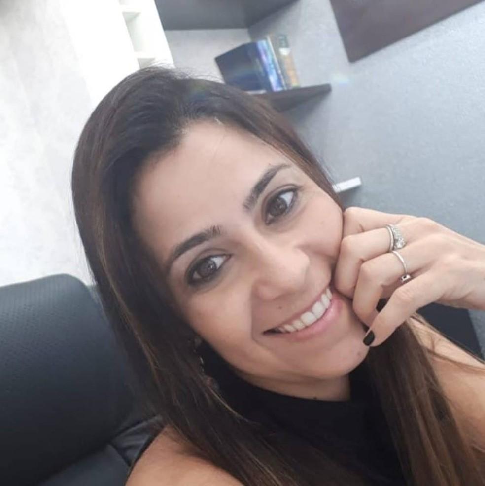 Advogada Daniela Baise foi internada após acidente na MT-242 entre Nova Ubiratã e Sorriso — Foto: Facebook/Reprodução