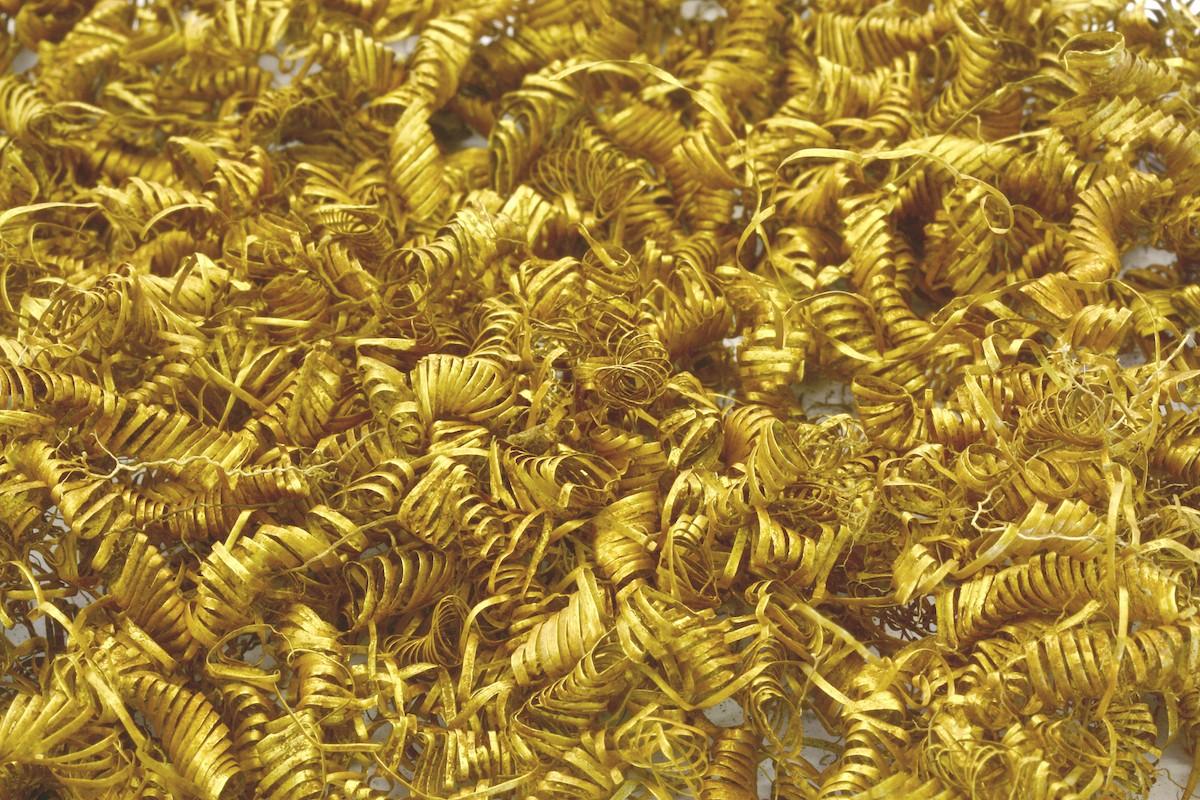 espirais de ouro (Foto: Morten Petersen/Museum Vestsjælland)