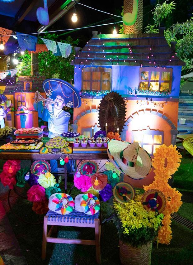 Detalhes de decoração do aniversário de Roque (Foto: Felipe Panfili/Divulgação)