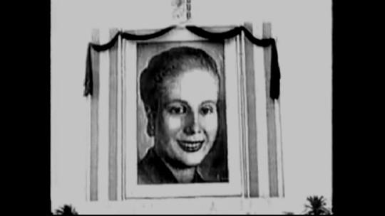 Evita Perón era tão amada na Argentina, que seu velório durou 14 dias