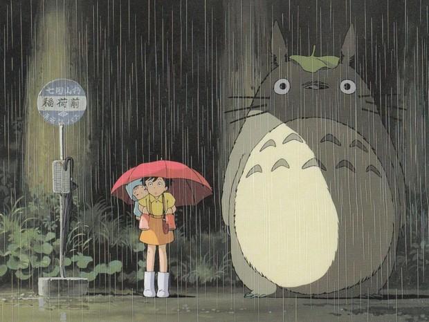 Cena do filme Meu Amigo Totoro (Foto: reprodução)