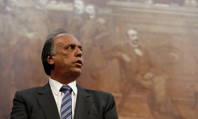 O governador do Rio, Luiz Fernando Pezão (Foto: Domingos Peixoto / Agência O Globo)