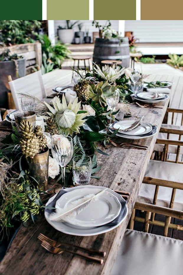 Outdoor Table Settings For Good Christmas Outdoor Table Settings Ideas Elegant Table Decorations On Outdoor Table Settings - Home Improvement (Foto: Reprodução/Divulgação)