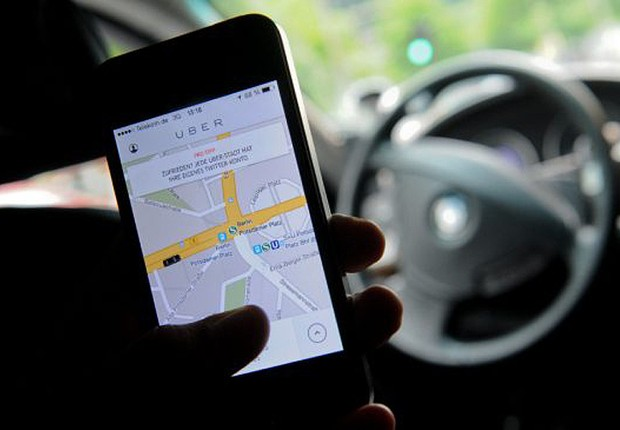 Aplicativo para transporte privado Uber (Foto: Divulgação)