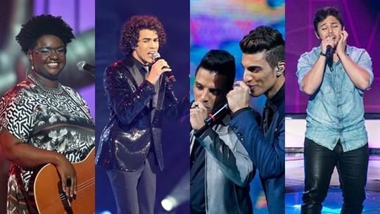 'The Voice Brasil': reveja as Audições e os anúncios da vitória dos campeões do reality