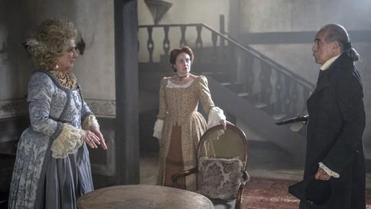 Diogo descobre gravidez de Branca e ameaça matar Xavier