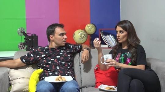 Cecília Ribeiro e Mário brincam de 'eu nunca'