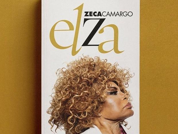 Capa de Elza, livro sobre Elza Soares escrito por Zeca Camargo (Foto: Divulgação)